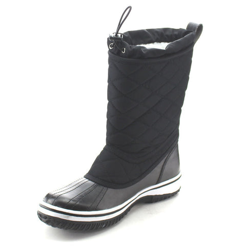 Waterproof Quilted Mid Calf Winter Snow Boots