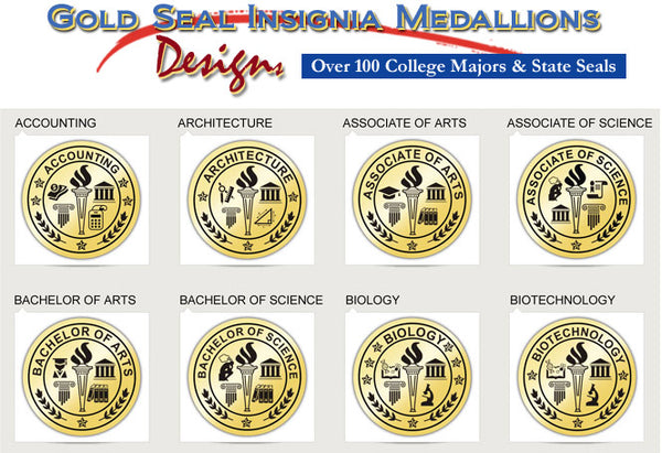 Choice of Gold Medallion College Diploma Frame