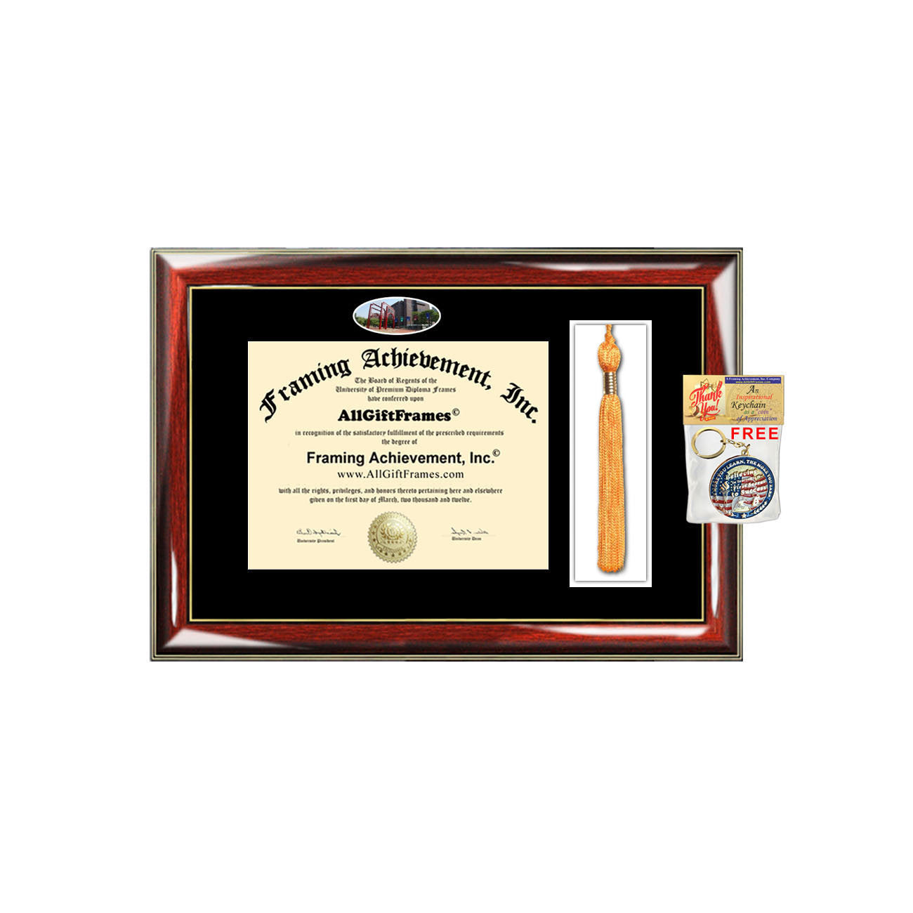 LIU Brooklyn diploma frames Long Island University diploma tassel box