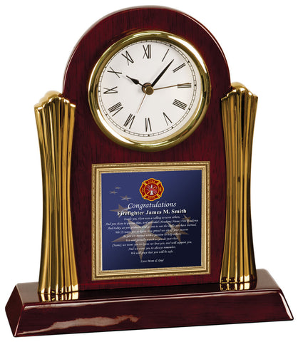 firefighter clock