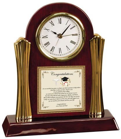 med school graduation gift clock