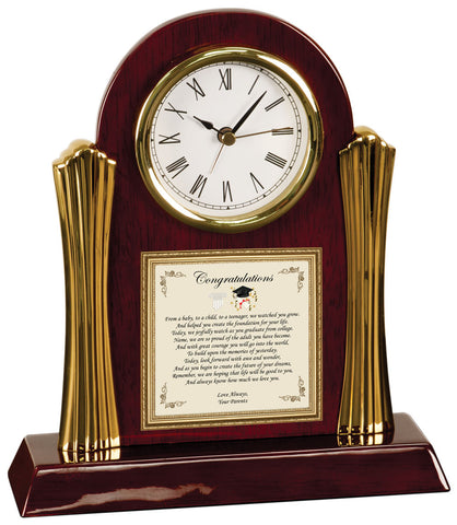 Personalized Graduation Gift Clock