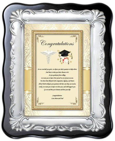 Medical School Graduation Plaque Gift
