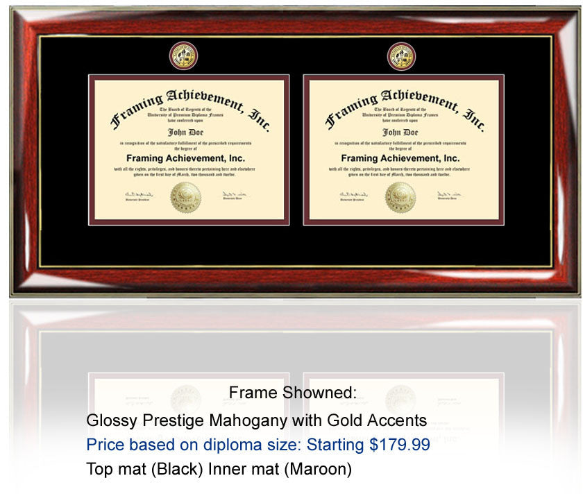 Perfect Triple Diploma Frame Motif - Custom Picture Frame Ideas ...