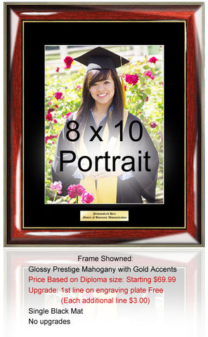 college picture frame