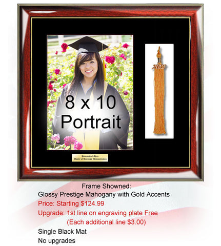 Graduation 8 x 10 Picture Frame Tassel Shadowbox