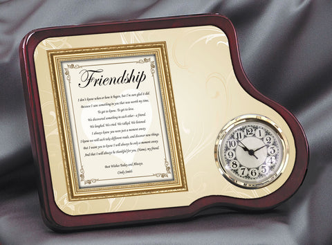 Friendship Gift Clock