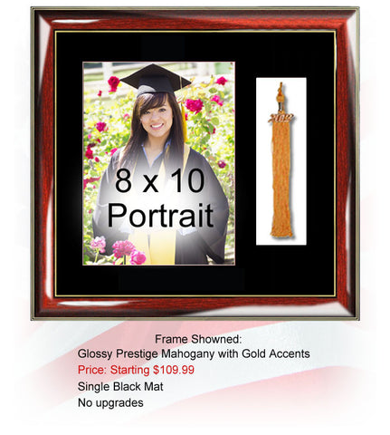 8x10 Graduation Picture Frame with Tassel