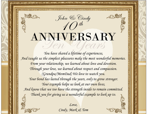 30th Wedding Anniversary Gifts For Mum And Dad: Parents Wedding Anniversary Gift Ideas For Mom Dad Father