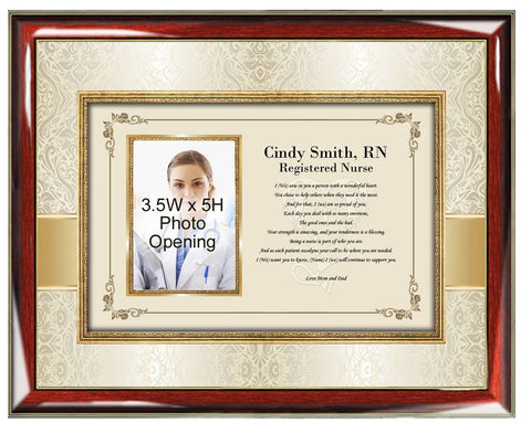 Nursing School Graduation Picture Frame