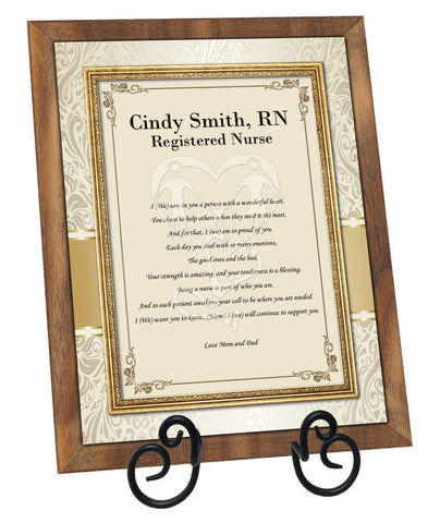 Nurse Gift Poem Plaque