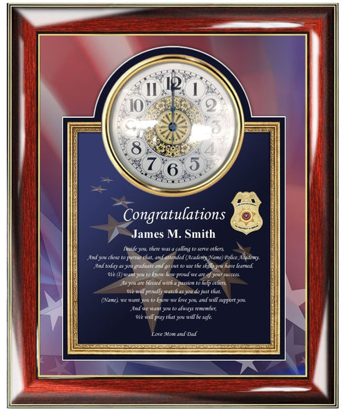 Graduation Gift Police Officer Law Enforcement Sheriff