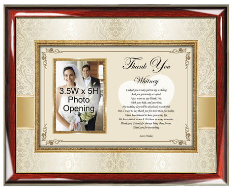 Bridesmaid Thank You Picture Frame