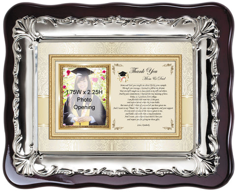thank you student support picture frame