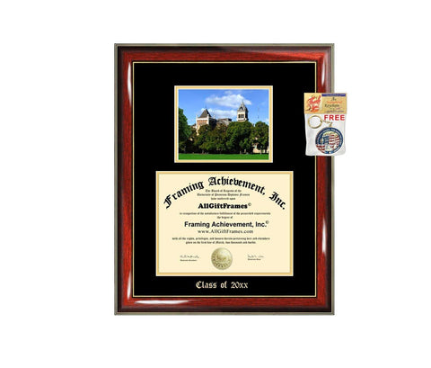 Diploma Frame Big Utah State University Graduation Gift Case USU Embossed Picture Frames Engraving Degree Graduate Bachelor Masters MBA PHD Doctorate School