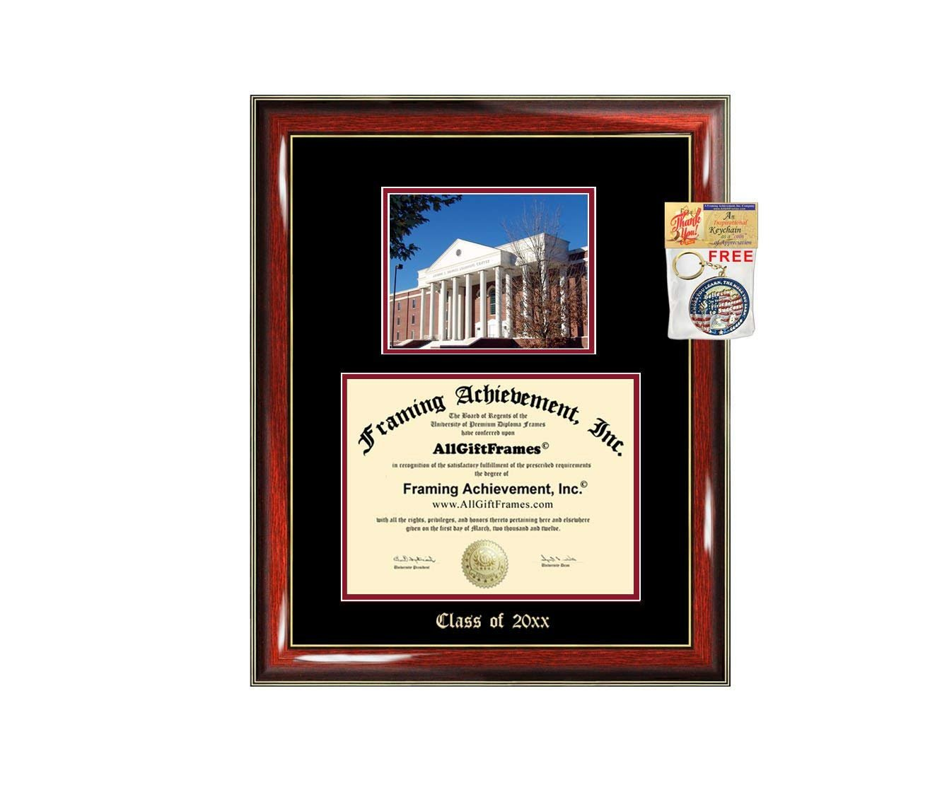 Liberty University Diploma Frame Big Graduation Gift Case Embossed Pic