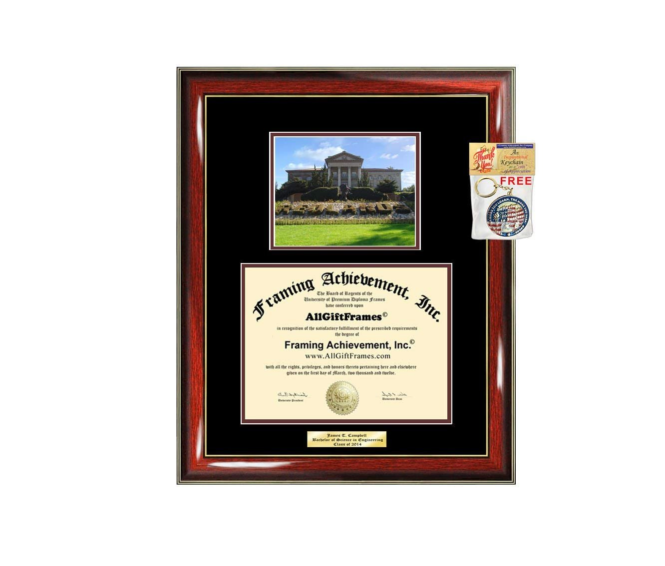 AllGiftFrames University of Redlands Diploma Frame School Campus Photo