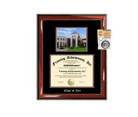 Diploma Frame Big WMU Western Michigan University Graduation Gift Case Embossed Picture Frames Engraving Degree Graduate Bachelor Masters MBA PHD Doctorate School