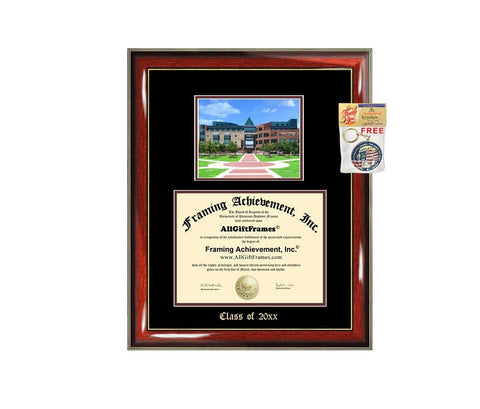 University Texas San Antonio Diploma Frame Big UTSA Graduation Gift Case Embossed Picture Frames Engraving Degree Graduate Bachelor Masters MBA PHD Doctorate School