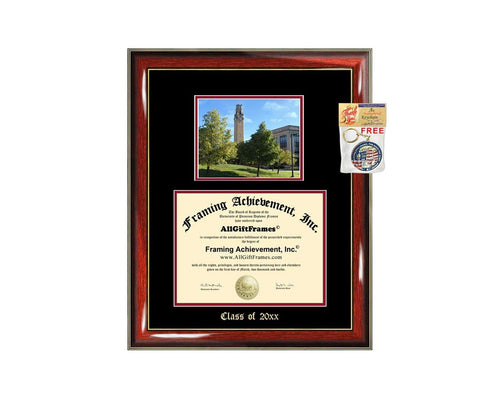 Diploma Frame Big University of Detroit Mercy UDM Graduation Gift Case Embossed Picture Frames Engraving Degree Bachelor Masters MBA PHD Doctorate School