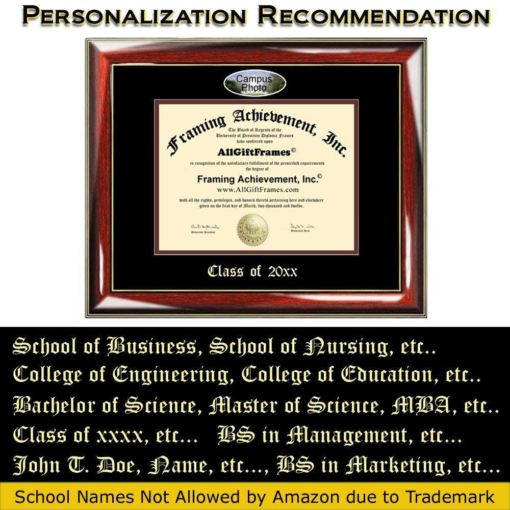 California State University East Bay Custom Diploma Frames Embossed Cs