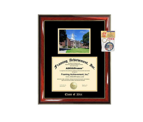 Diploma Frame Big UConn University of Connecticut Graduation Gift Case Embossed Picture Frames Engraving Degree Graduate Bachelor Masters MBA PHD Doctorate School