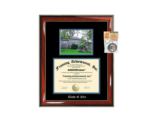 Diploma Frame Big WWU Western Washington University Graduation Gift Case Embossed Picture Frames Engraving Degree Graduate Bachelor Masters MBA PHD Doctorate School