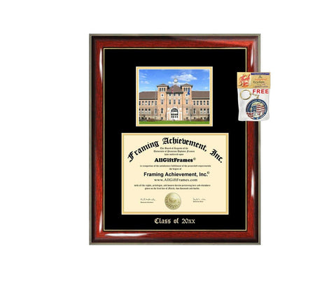 Diploma Frame Big University of Wisconsin Stevens Point UWSP Graduation Gift Case Embossed Picture Frames Engraving Degree Graduate Bachelor Masters MBA PHD Doctorate School