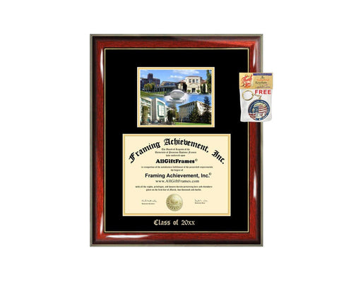 Diploma Frame Big University of California Davis UCD Graduation Gift Case Embossed Picture Frames Engraving Degree David Bachelor Masters MBA PHD Doctorate School