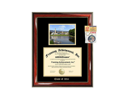 Diploma Frame Big UCSB University of California Santa Barbara Graduation Gift Case Embossed Picture Frames Engraving Degree Graduate Bachelor Masters MBA PHD Doctorate School