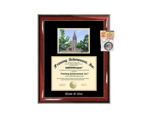 Diploma Frame Big University of Colorado Denver UC Denver Graduation Gift Case Embossed Picture Frames Engraving Degree Bachelor Masters MBA PHD Doctorate School