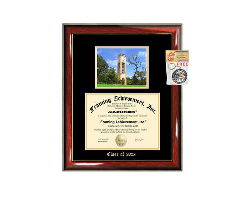 Diploma Frame Big University of Texas Tyler School Campus Photo Graduation Degree Framing Document Graduation Gift JD Juris Doctor Bachelor Master MBA Doctorate PHD Cheap Best