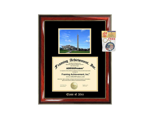 University of Massachusetts Dartmouth Diploma Frame Big School Campus Picture Double Graduation Umass Degree Framing Graduation Gift Bachelors Masters MBA Doctorate PHD