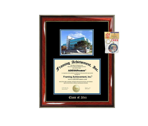 Diploma Frame Big UCI University of California Irvine Graduation Gift Case Embossed Picture Frames Engraving Degree Graduate Bachelor Masters MBA PHD Doctorate School