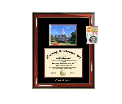 Diploma Frame Big Transylvania University Graduation Gift Case Embossed Picture Frames Engraving Degree Graduate Bachelor Masters MBA PHD Doctorate School