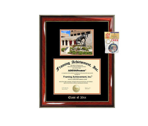 Diploma Frame Big UTRGV University of Texas Permian Basin Graduation Gift Case Embossed Picture Frames Engraving Degree Graduate Bachelor Masters MBA PHD Doctorate School
