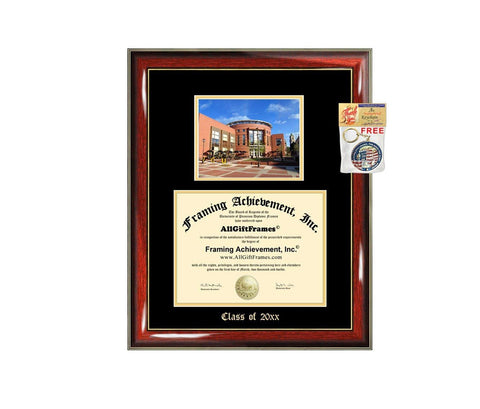 Diploma Frame Big VCU Virginia Commonwealth University Graduation Gift Case Embossed Picture Frames Engraving Degree Graduate Bachelor Masters MBA PHD Doctorate School