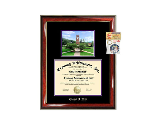 Diploma Frame Big Western Carolina University WCU Graduation Gift Case Embossed Picture Frames Engraving Degree Graduate Bachelor Masters MBA PHD Doctorate School