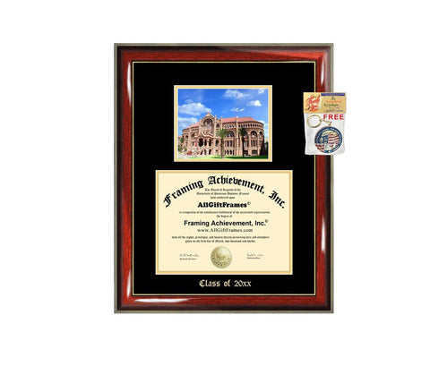 Diploma Frame Big UTMB University of Texas Medical Branch Graduation Gift Case Embossed Picture Frames Engraving Degree Bachelor Masters MBA PHD Doctorate School