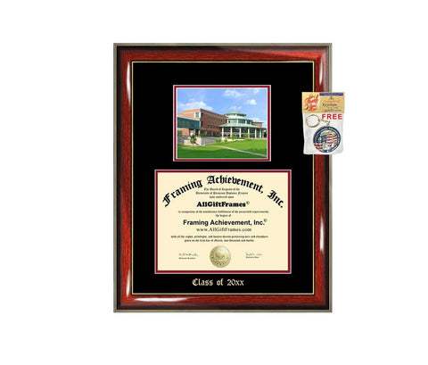 Diploma Frame Big University of Missouri St. Louis UMSL Graduation Gift Case Embossed Picture Frames Engraving Degree Graduate Bachelor Masters MBA PHD Doctorate School