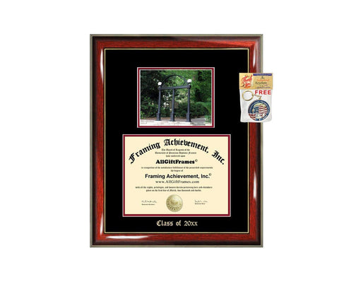 Diploma Frame Big University of Georgia UGA Graduation Gift Case Embossed Picture Frames Engraving Degree Graduate Bachelor Masters MBA PHD Doctorate School