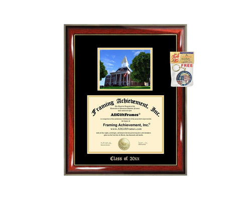 Diploma Frame Big University of North Georgia UNG Graduation Gift Case Embossed Picture Frames Engraving Degree Graduate Bachelor Masters MBA PHD Doctorate School