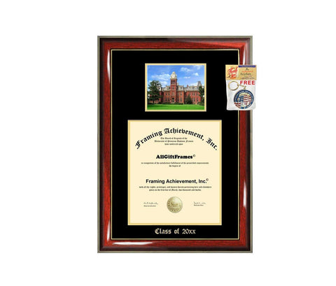 WVU Diploma Frame Big West Virginia University School Campus Photo Graduation Degree Double Mat Framing Document Graduation Gift Bachelor Master MBA Doctorate PHD Cheap Best