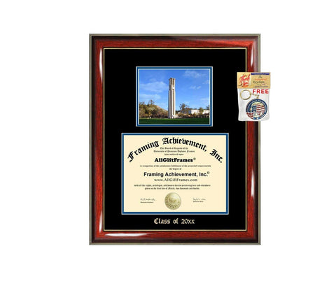 Diploma Frame Big UCR University of California Riverside Graduation Gift Case Embossed Picture Frames Engraving Degree Graduate Bachelor Masters MBA PHD Doctorate School