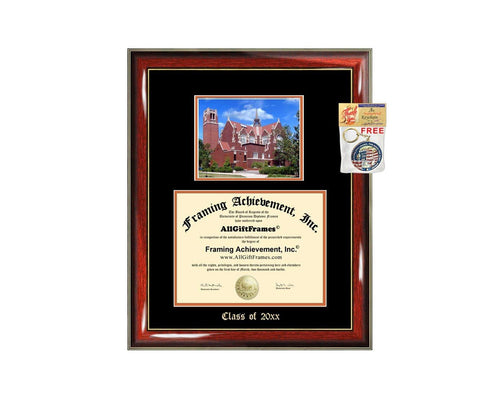 Diploma Frame Big University of Florida UF Graduation Gift Case Embossed Picture Frames Engraving Degree Graduate Bachelor Masters MBA PHD Doctorate School