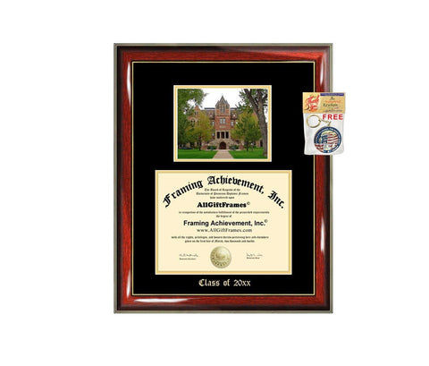 Diploma Frame Big University of Colorado Boulder UC Boulder Graduation Gift Case Embossed Picture Frames Engraving Degree Bachelor Masters MBA PHD Doctorate School