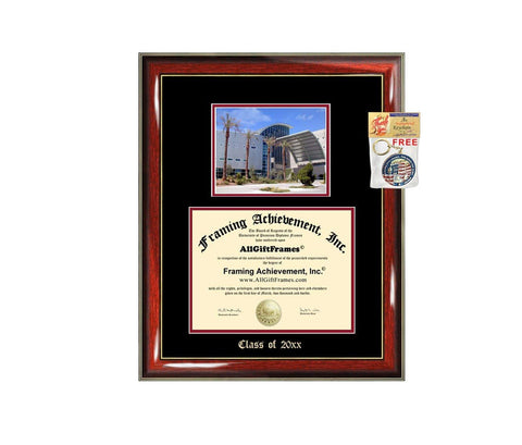 Diploma Frame Big UNLV University of Nevada Las Vegas Graduation Gift Case Embossed Picture Frames Engraving Degree Graduate Bachelor Masters MBA PHD Doctorate School
