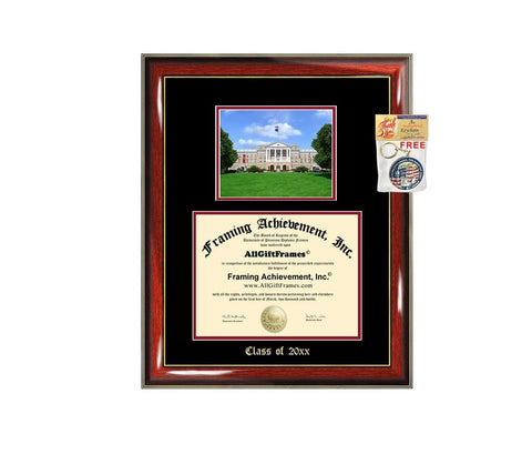 Diploma Frame Big University of Wisconsin Madison UW Graduation Gift Case Embossed Picture Frames Engraving Degree Graduate Bachelor Masters MBA PHD Doctorate School