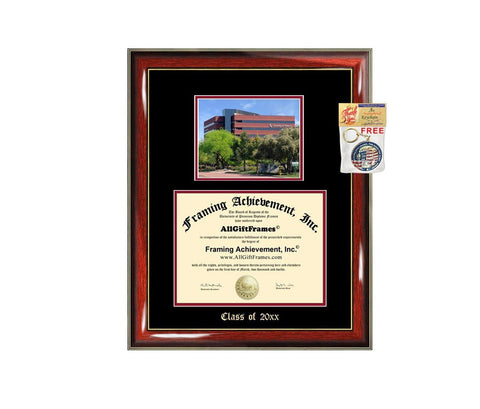 Diploma Frame Big University of Phoenix UOP Graduation Gift Case Embossed Picture Frames Engraving Degree Graduate Bachelor Masters MBA PHD Doctorate School