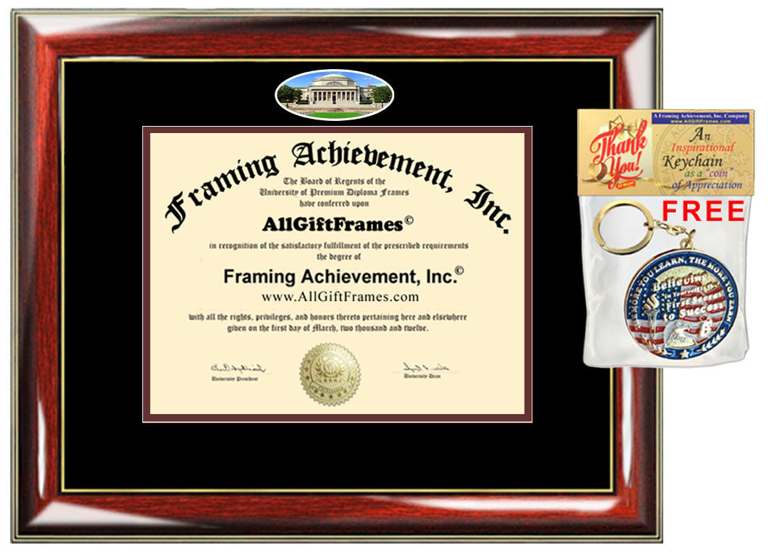 Columbia University diploma frame certificate degree school picture fr